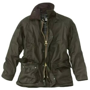 ORVIS-campo-CAPPOTTO-GIACCA-WAXED-Beaufort-XL-46-VERDE-CACCIA-PESCA-RRP-289