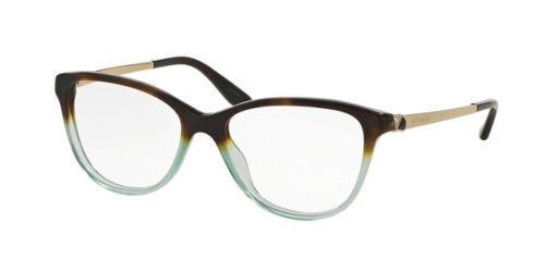 47b4851355 Bvlgari Bv4108b 5364 Havana Gradient Green Women Eyeglasses Frame Fast Ship  for sale online