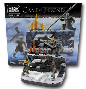 Mega Construx GKG96 Game of Thrones Battle beyond the wall Matell Jon Snow Night