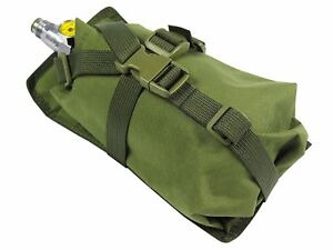 Pouch-Case-molle-pals-ninja-Air-Tank-olive-PAINTBALL-bag-airsoft-green-od-Water