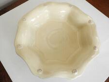 THREAD Juliska Ceramics BERRY BUTTER YELLOW Soup//Pasta Bowl VG