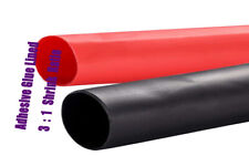 215ft 38 Dual Wall 31 Heat Shrink Tubing Cable Sleeve Assortment Blackred