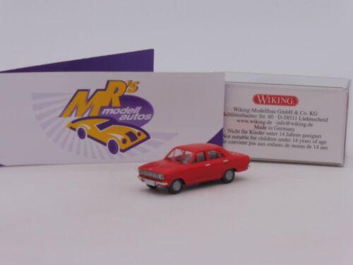 """Wiking 0790 04 # Opel Kadett B Limousine Année modèle 1965 /""""Verkehrsrot/"""" 1:87 NEUF"""