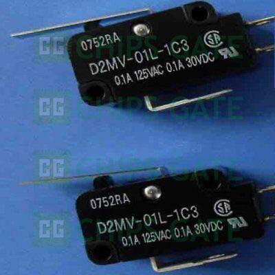 1PCS Omron Micro Switch D2MV-01-1C3 New
