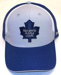 Toronto-Maple-Leafs-CAP-NHL-Eishockey-Reebok-Kappe-Flex-One-Size-Eishockey