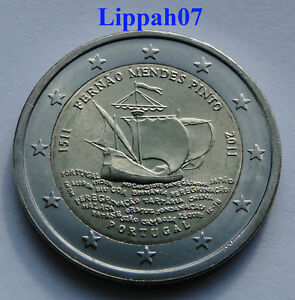 Portugal-speciale-2-euro-2011-Fernao-Mendes-Pinto-UNC