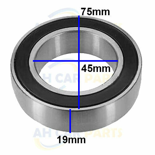 FORD TRANSIT CONNECT 1.8 DRIVESHAFT INTERMIDIATE CENTER BEARING  2002/>2013