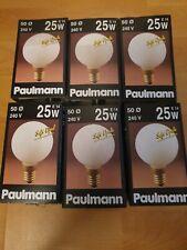 PAULMANN MINI Globe Lampe TROPFEN T50 E14 25W G50 Soft Opal 105.20 RARITÄT