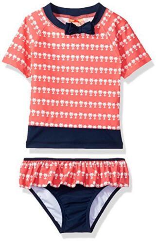 Tommy Bahama Toddler Girls Two-Piece Rashguard Set Size 2T 4T