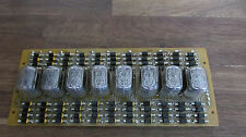IN-12B Lot of 8pcs Russian numeric nixie tube used tested
