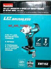 New In Box Makita Xwt15z 12 18v Impact Wrench 18 Volt Brushless Detent Anvil