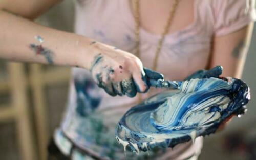 Angelo dipinto a mano quadro olio Ölbilder immagine immagini quadro g17159