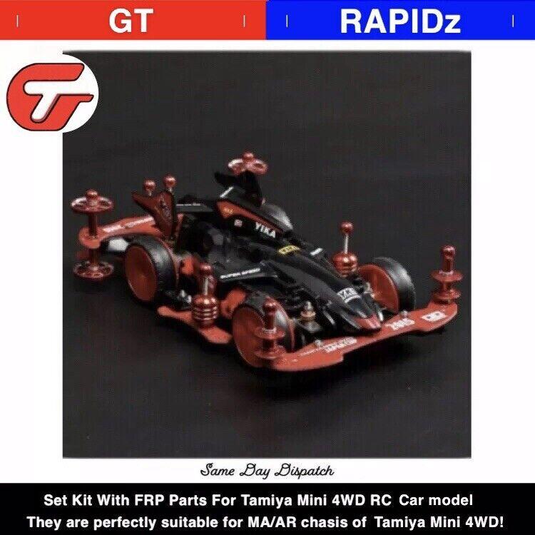 1 Set ma    Ar Chassis Modifica Parti Ricambio Kit con FRP Parti per Tamiya Mini  fino al 42% di sconto
