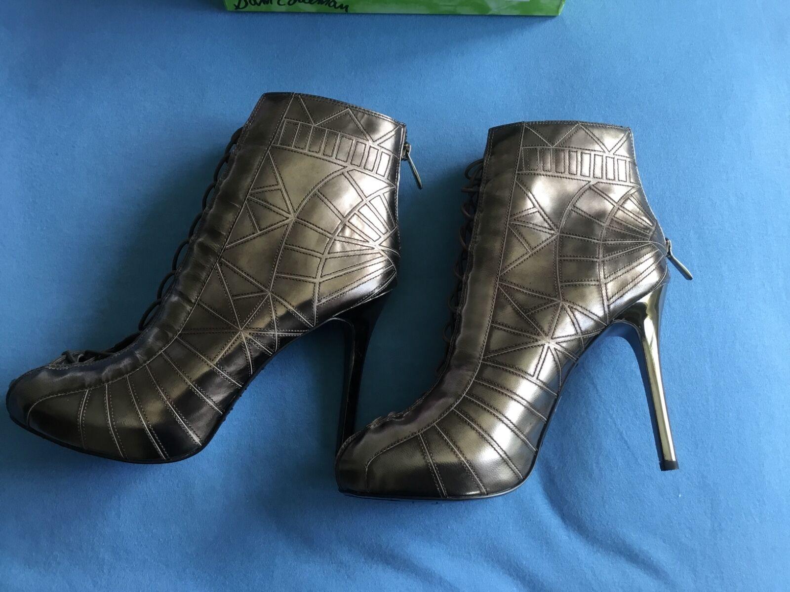 disponibile Sam Edelman Queenie Metallic Scarpe Scarpe Scarpe TAGLIA US 81 5  outlet