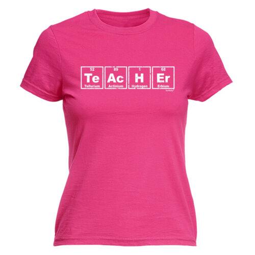 Teacher Periodic Table Design WOMENS T SHIRT cute geek nerd chemistry funny gift