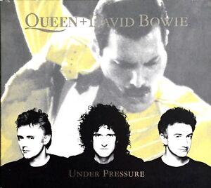 CD-DIGIPACK-QUEEN-DAVID-BOWIE-UNDER-PRESSURE-3-TITRES-1-VIDEO-RARE-1999