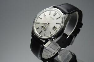 OH-Vintage-1965-JAPAN-SEIKO-SEIKOMATIC-WEEKDATER-6206-8040-26Jewels-Automatic