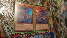 N°0699 - Yu Gi Oh - Arkbrave dragon - sr02-en000 - Lots de 2 cartes