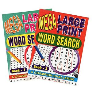 2x-Mega-Large-Print-Adult-Word-Search-Books-over-250-puzzles-Trivia-Fun