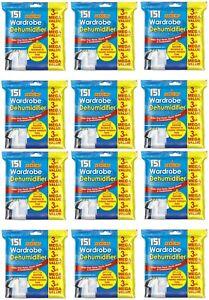 12 x Wardrobe Dehumidifier
