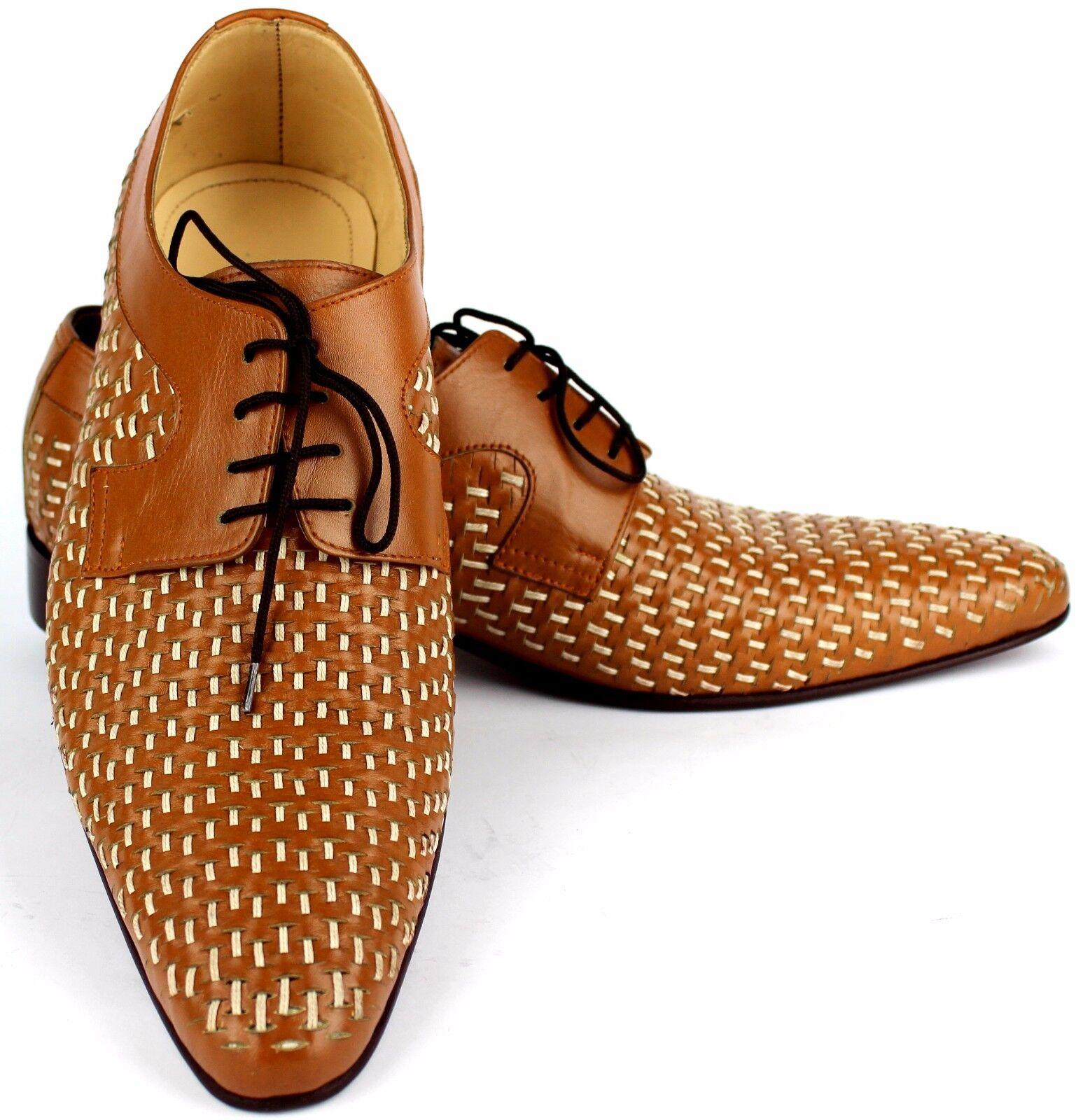 CLASSE dirigente mano Formale Scarpe Da Uomo 100% fatto a mano dirigente 100% Genuine Leather 9f8710