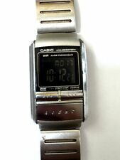 C asio LA-200 Futurist Illuminator Negative Display Alarm Chronograph Watch