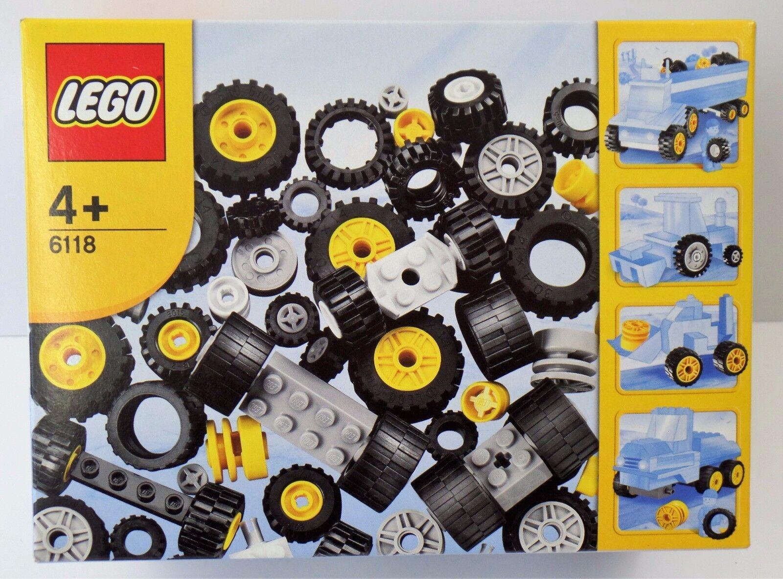 Lego 6118 - Räder Felgen Achsen Wheels - NEU NEW