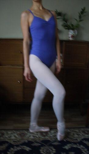 New Ballet dance girl lady cotton//lycra leotard with cross back design