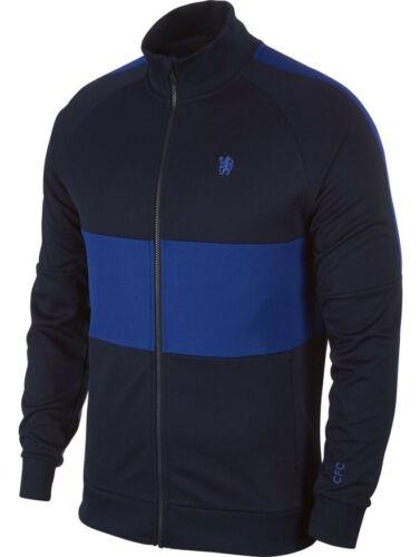 Chelsea Fc Nike Giacca Tuta Pre gara Jacket Uomo L96 2019 20 Blu 451