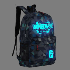 Details about Steam Game Rainbow Six Siege Pro League Backpack Bag Game  School Gift