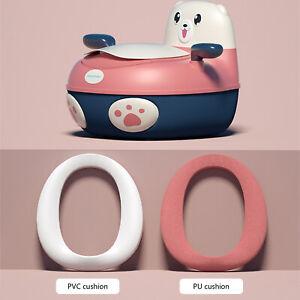 Baby Toilet Trainer Sitzgelegenheiten Portable Kleinkinder Pu WC Training Potty