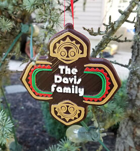 Details about Personalized Polynesian Themed Family Last Name Christmas  Ornament