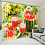 3D Watermelon 4 Blockout Photo Curtain Printing Curtains Drapes Fabric Window AU