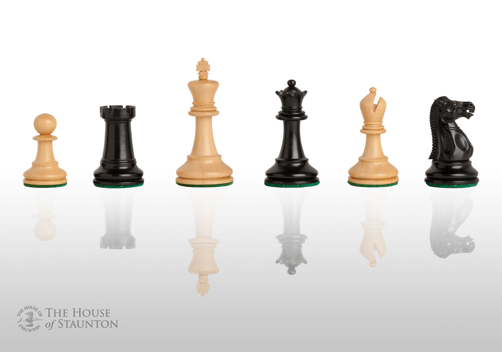 USCF Sales Reproduction of The Circa 1925 Series Luxury Chess Set - Pieces Only