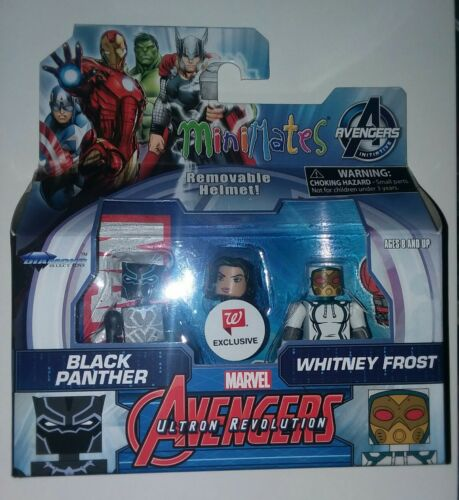 Minimates MARVEL NEW! HTF! BLACK PANTHER and WHITNEY FROST EXCLUSIVE!