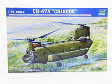"""Lot 31573   Trumpeter 01621 ch-47a """"Chinook"""" Helicopter 1:72 kit nuevo en OVP"""