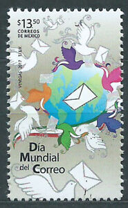 Mexico Mail 2017 Yvert 3058 MNH Day Of Mail