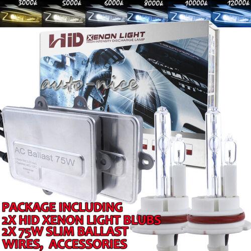 Xenon HID Headlgiht Kit AC 75W 100W H4 H7 H10 H11 H13 9005 9006 9007 3k 5k 6k 8k
