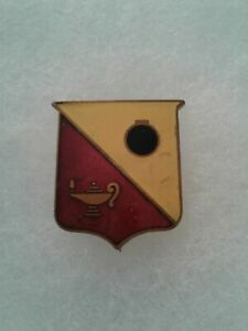 Authentic-WWII-US-Army-Ordnance-School-DI-DUI-Crest-Insignia-NH