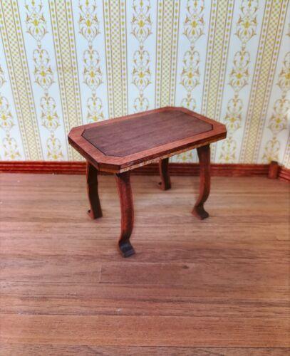 Dollhouse Miniature Side Table Art Nouveau Whimsical Style 1:12 Scale Handmade