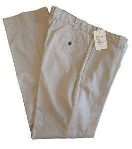 frontali l33 159 50 cotone W36 pietra uomo in piatte Pantalone piatti pantaloni avorio dollari casual 97 5 66pvw