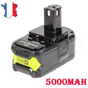 18V-Li-Ion-5-0AH-Batterie-Pour-Ryobi-One-Plus-BPL1820-P2000-P835-P108-P100-FR