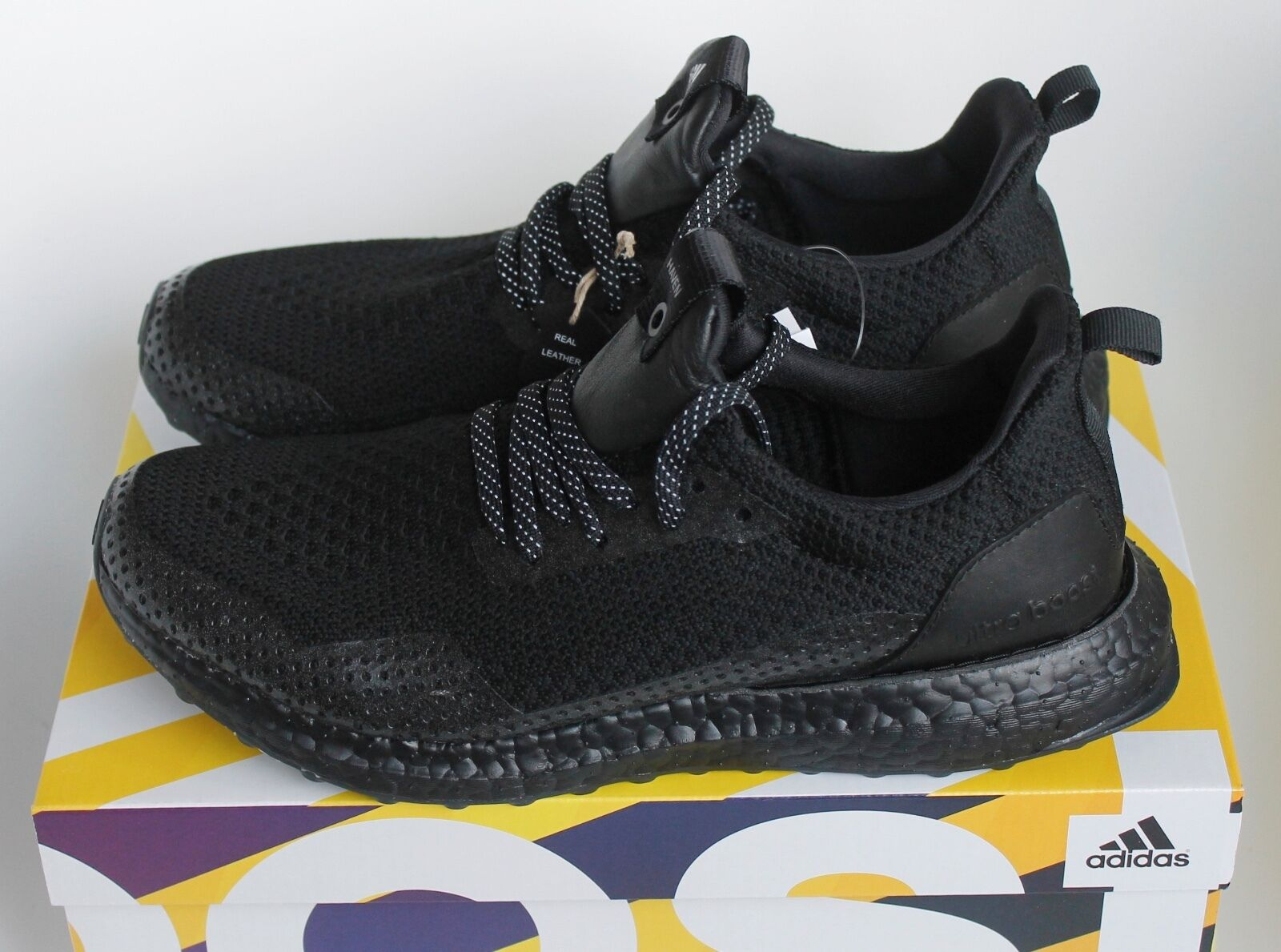 Adidas x Haven Uncaged Ultra Boost Triple Black BY2638 Size 5 7 8 11 New