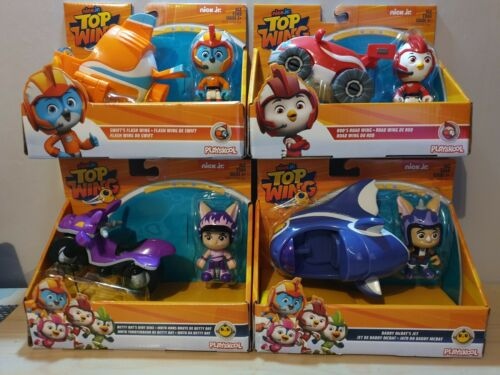 HASBRO PLAYSKOOL nick jr TOP WING FIGURE AND VEHICLE SET CHOOSE YOUR OWN NEW