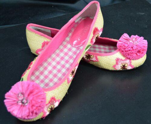 Flats Bloemen 7 Sider Sperry Schoenen Slides geborduurd 5 Loafers stro Top Ballet qtFUwOT1f