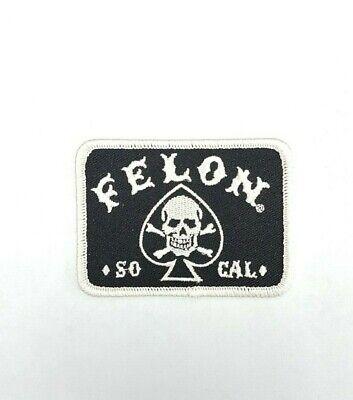 Iron On Patch Lucky 13 Skulls Stars Black Biker Tattoo Motorcycle Sew On