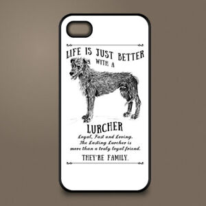 Details Zu Lurcher Dog Phone Case Cover Apple Iphone Samsung Galaxy Personalised