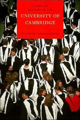1 of 1 - A Concise History of the University of Cambridge by Elisabeth Leedham-Green (Pa…