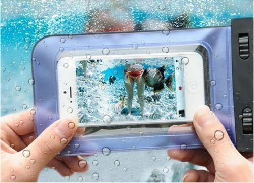 Unterwasser Tasche Samsung Galaxy S4 S5 S6 S7 SchutzHülle wasserfest Wasserdicht