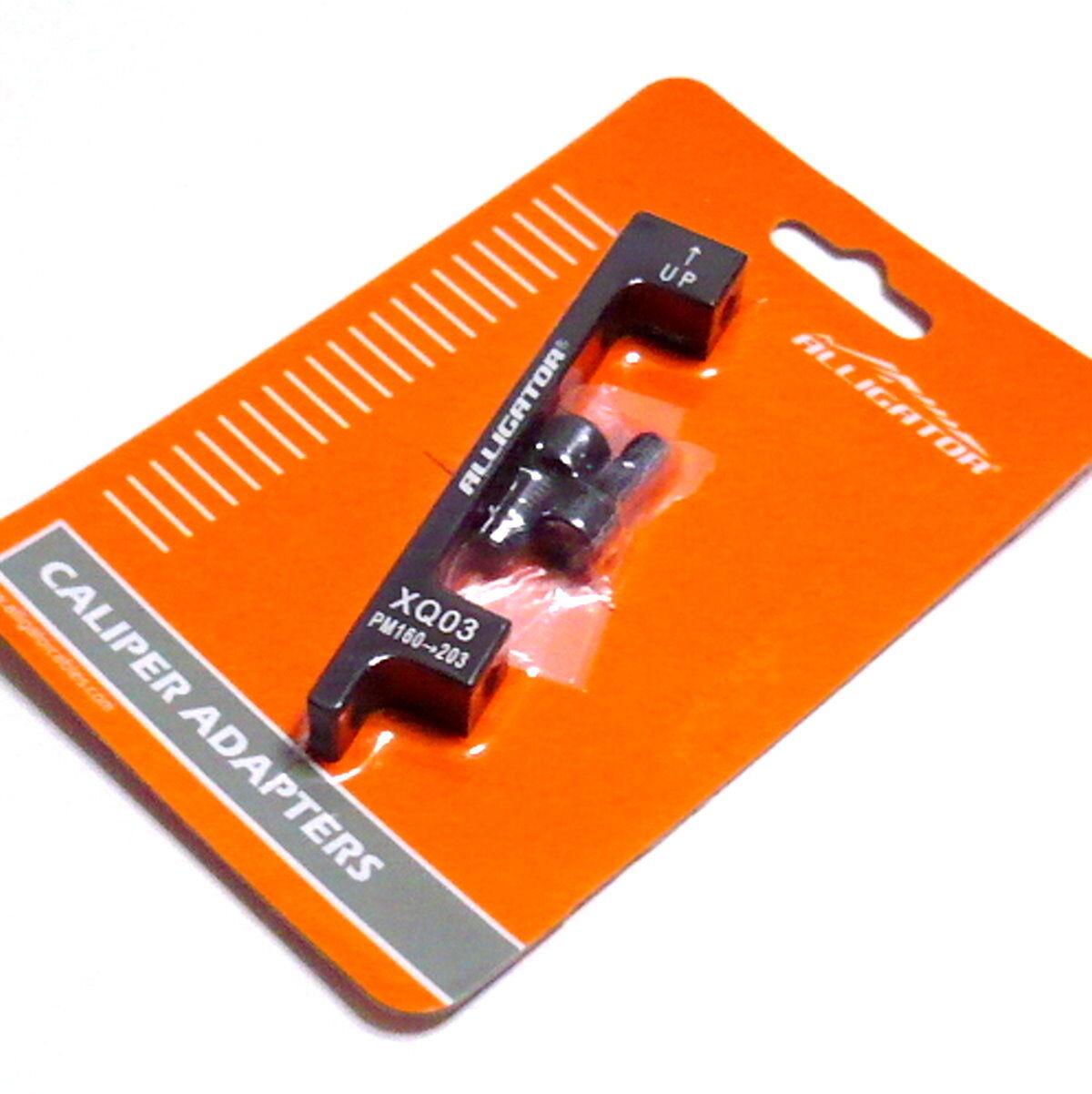 D83 F 180mm R 160mm gobike88 Alligator CNC Adaptor IS Fork//Frame to PM Caliper